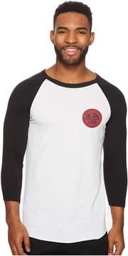 O'Neill Woody Raglan Long Sleeve Screen Tee Men's T Shirt