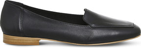 Office Fundamental leather loafers