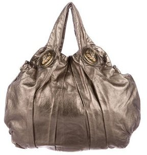 Gucci Metallic Large Hysteria Bag - GOLD - STYLE