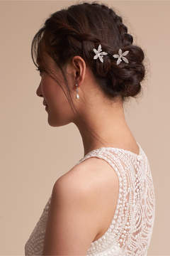 BHLDN Crystal Orchid Hair Bobbies
