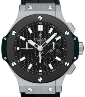 Hublot Big Bang Evolution 301.SM.1770.GR Stainless Steel & Ceramic 44.5mm Mens Watch