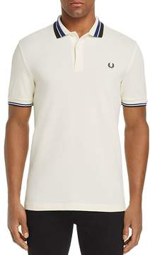 Fred Perry Tipped Pique Slim Fit Polo Shirt