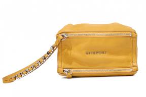 Givenchy Pandora leather clutch bag