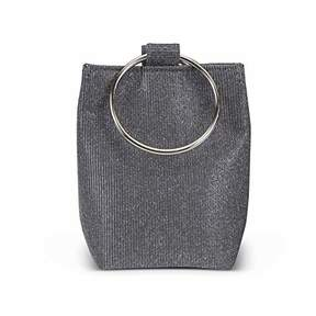 Jessica McClintock Gwen Sparkle & Shine Ring Pouch Clutch