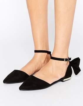 Miss KG Norah Bow Flat Shoe
