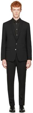 Dolce & Gabbana Black Martini Suit