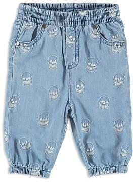 Stella McCartney Boys' Denim Skull-Print Pants - Baby