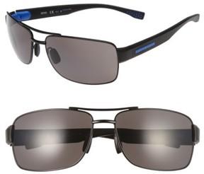BOSS Men's '0801/s' 63Mm Sunglasses - Matte Black