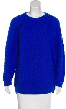 Chinti and Parker Cable Knit Wool Sweater