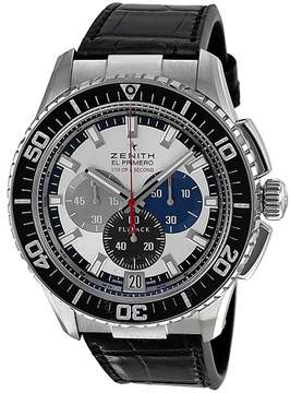 Zenith El Primero Automatic Chronograph Silver Dial Men's Watch