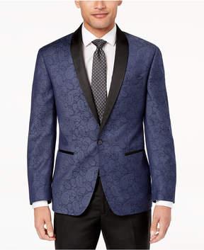 Ryan Seacrest Distinction Men's Modern-Fit Navy Paisley Dinner Jacket, Created for Macy's