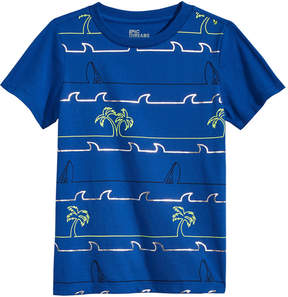 Epic Threads Little Boys Palm Striped T-Shirt, Created for Macy's