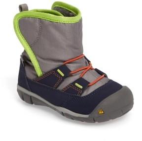 Keen Infant Boy's Peek-A-Boot Fleece Lined Boot