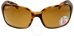Ray-Ban Polarized Brown Classic B-15 Ladies Sunglasses