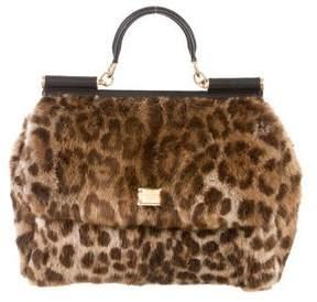 Dolce & Gabbana Mink Miss Sicily Bag