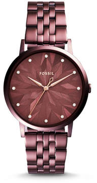 Fossil Vintage Muse Three-Hand Wine Stainless Steel Watch