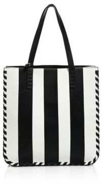 Alice + Olivia Alex North South Leather Tote