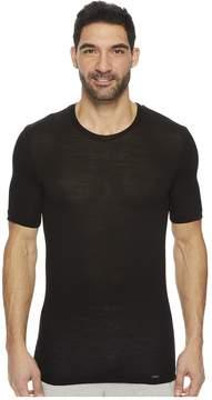 Hanro Light Merino Short Sleeve Shirt Men's T Shirt