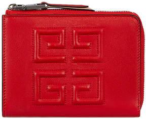 Givenchy Medium Emblem Zip Wallet