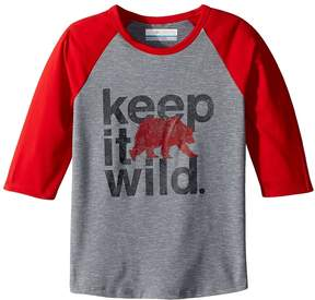 Columbia Kids Outdoor Elements 3/4 Sleeve Shirt Boy's T Shirt