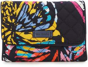 Vera Bradley Iconic RFID Riley Compact Wallet