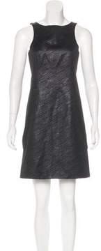 Behnaz Sarafpour Metallic Sleeveless Dress
