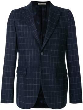 Bottega Veneta dark navy wool cashmere jacket