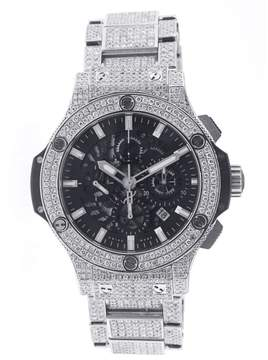 Hublot Big Bang 44MM Aero Bang with Diamonds
