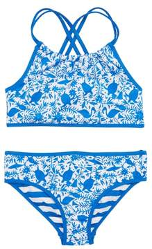 Vineyard Vines Bahama Otomi Reversible Two-Piece Swimsuit