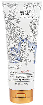 Library of Flowers Forget Me Not Shower Gel, 8 oz.
