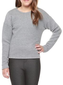 Dex Girl's Ribbed Sweater