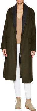 Dawn Levy Women's Renata Shawl Lapel Long Coat