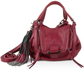 Kooba Jonnie Tassel Mini Leather Crossbody