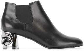 Casadei Maxi Chain Chelsea ankle boots