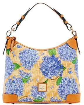 Dooney & Bourke Hydrangea Basketweave Hobo Shoulder Bag