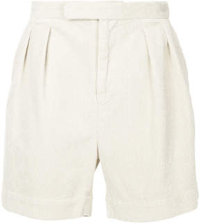 H Beauty&Youth cord textured shorts