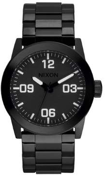 Nixon Mens Private Black Stainless Steel Watch A276-001-00