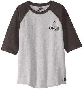 O'Neill Boys' Stick Up 3/4 Raglan Shirt (Big Kid) 8167361