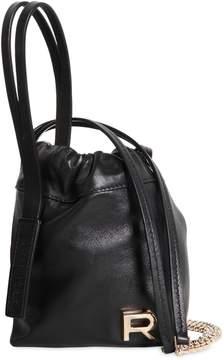 Rochas Mini Leather Bucket Bag
