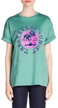 Fendi Trastevere Embellished T-Shirt