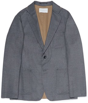TOMORROWLAND Wool-silk soft blazer