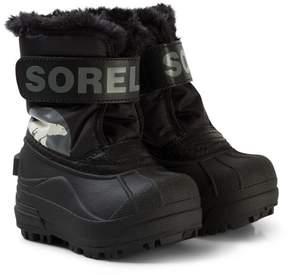 Sorel Toddler Snow CommanderTM Black, Charcoal