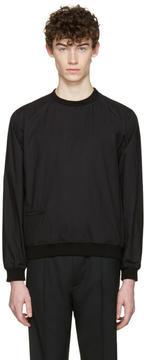 Lemaire Black Poplin Pullover