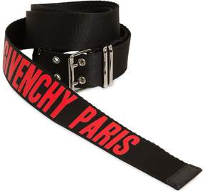 Givenchy 35mm Roll Buckle Cordura Belt