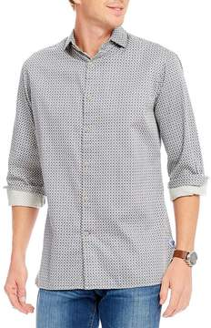 Daniel Cremieux Foulard Print Long-Sleeve Woven Shirt