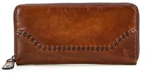 Frye Melissa Whip-Stitched Zip Wallet