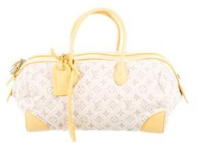 Louis Vuitton Denim Speedy Round - WHITE - STYLE