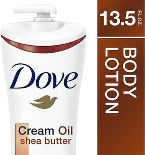 Dove Cream Oil Body Lotion Shea Butter