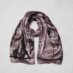 River Island Womens Light pink burnout scarf