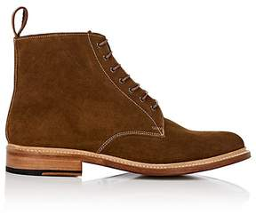 Grenson MEN'S FERGAL SUEDE LACE-UP BOOTS